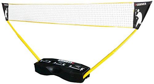 Hammer 3 in 1 Netze-Set – Mobiles Badminton Netz
