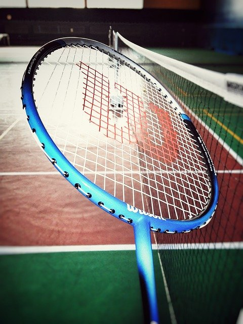 Badminton Regeln Aufschalg